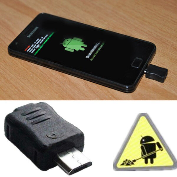 Micro USB JIG Download Mode Dongle Fix For Samsung Galaxy S4/S3/S2/S Note 3/2/1