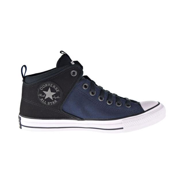Converse Chuck Taylor All Star High Street Hi Men's Shoes Black Obsidian 166078C