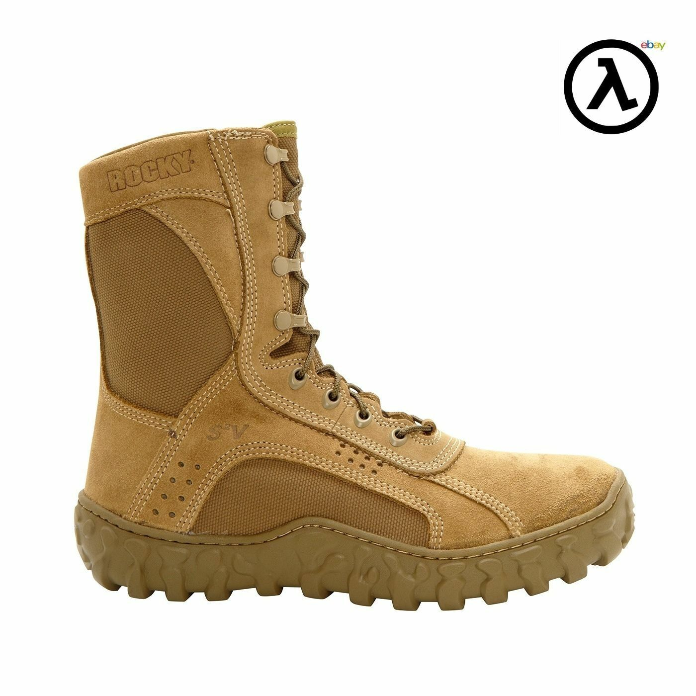 ROCKY S2V STEEL TOE MILITARY MILITARY MILITARY BOOTS / COYOTE FQ0006104 * ALL SIZES - NEW 74a7bb