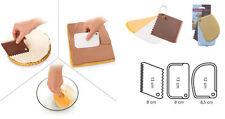 Imperdibile set spatole per dolci tescoma 3 tre pezzi torte pasticceria spatola
