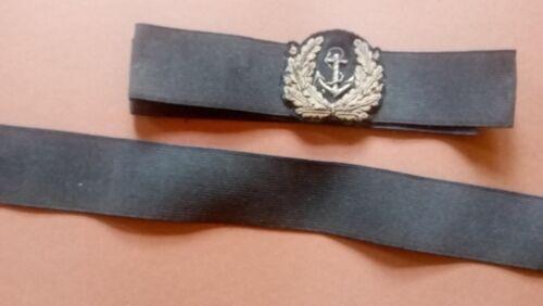 neues Ripsband für Marine Schirmmützen Kriegsmarine bis Bundesmarine