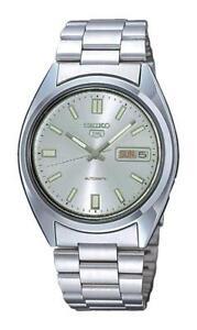 Seiko-5-Orologio-da-Uomo-Automatico-SNXS73K1-Analogico-Acciaio-Inox-Argento