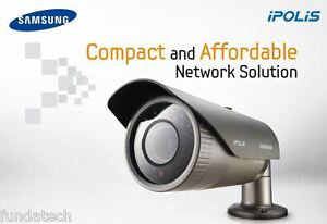 Details about SAMSUNG TECHWIN SNO-1080RP CCTV OUTDOOR NETWORK VARIFOCAL  DUAL STREAMING CAMERA