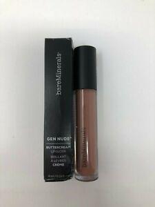 BareMinerals Gen Nude Buttercream Lipgloss .13 Fl Oz -Must