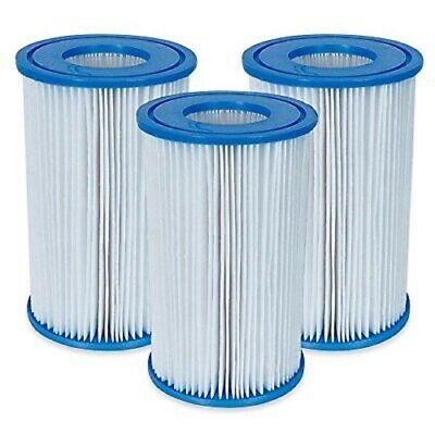 Kit 3 cartucce filtro 29000 Intex 29003 tipo A pompa piscina fuori terra