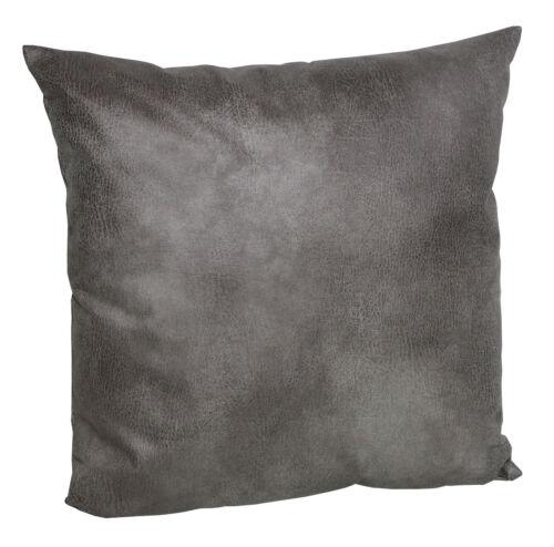 Coussin Housse en cuir synthetique use taie d/'oreiller Housses Coussin Canapé enveloppes avec rv
