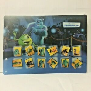 Set-of-12-Pin-039-S-Disney-with-Board-Monster-amp-Co