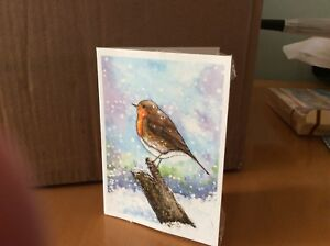 Second-Hope-Charity-Christmas-Cards-Robin-Redbreast-design