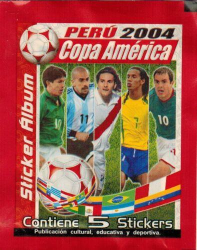 La versión 2004 de Perú Navarrete Copa América de fútbol Paquete de Etiqueta