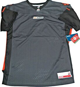 b57468c9c1a X-LARGE-NWT REEBOK AUTHENTIC CFL LICENSED BC LIONS GREY YOUTH JERSEY ...