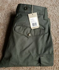 BRAND NEW Filson Otter Green 100% Cotton Field Cargo, 29 X 34,  $225 Made in USA