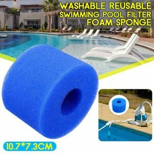 Washable-Reusable-Foam-Hot-Tub-Filter-Cartridge-Pure-Spa-Pool-For-Intex-S1-Type