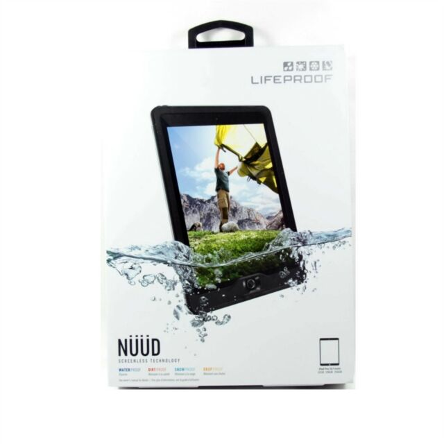 quality design 54a4c ecfaa LIFEPROOF CASE FOR IPAD PRO 9.7 2015 NUUD WATER PROOF GENUINE BLK CLR  77-53719