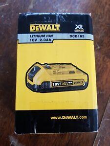 Batterie DEWALT XR DCB183 18V 2.0AH