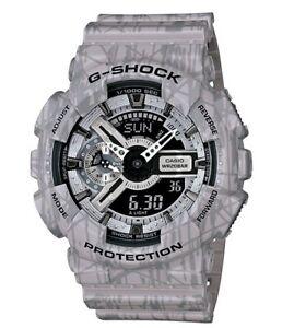 Casio-G-Shock-GA110SL-8A-Slash-Pattern-Anadigi-Gshock-Watch-XL-Grey-COD-PayPal