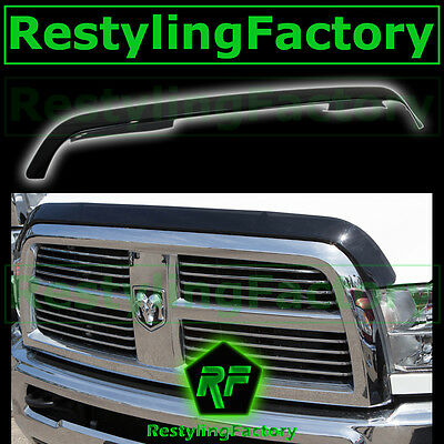 10-18 Dodge Ram 2500+3500 HD Triple Chrome Hood Shield Guard Bug Air Deflector