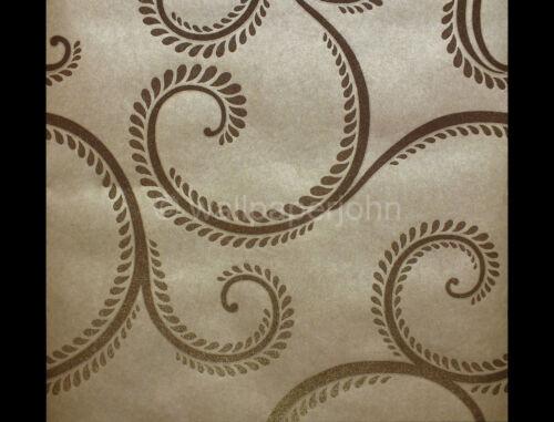 99232 Luxury glass bead wallpaper in mink by holden decor Anoushka