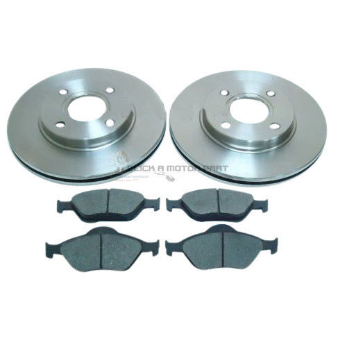 Disques de frein avant 258 mm et Plaquettes Neuf Pour TOYOTA YARIS 2005-2012 1.4 D4D