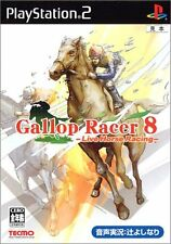 Used PS2 Gallop Racer 8 Live Horse Racing Import Japan