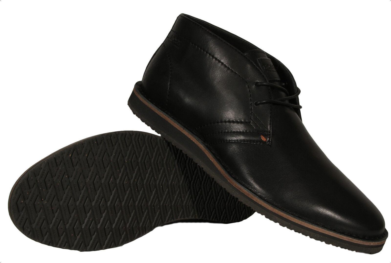 Hugo Boss Volusi Black Men's Leather Boots Mid Top By Boss orange 50298054 001