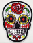 Sugar-Candy-Skull-Iron-On-Patch-Badge-Day-of-the-Dead-Transfer-Jacket-Hat-Bag thumbnail 9
