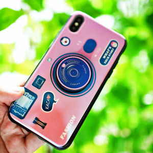 For-iphone-Xs-Max-XR-6-7-8-Plus-3D-Camera-Pattern-Shockproof-Phone-Case-Cover