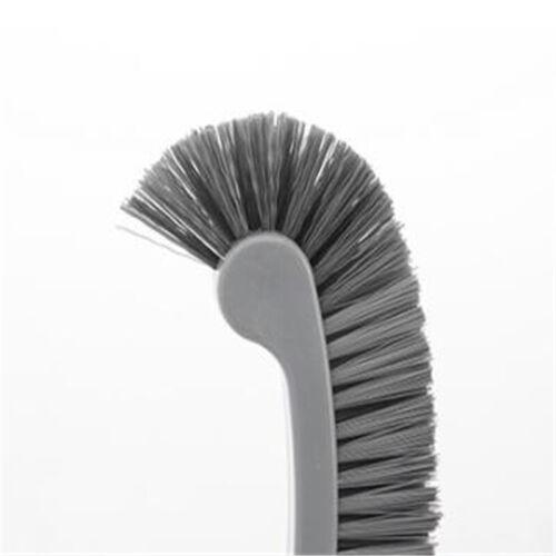 Home Toilet Brush Long Handle Portable Tool Gadgets Kitchen Bathroom Scrubber LI