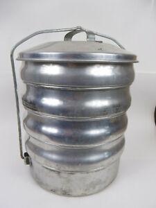 Regal Aluminum 5 Tier Mess Kit Camping Gear Cookware Regalware
