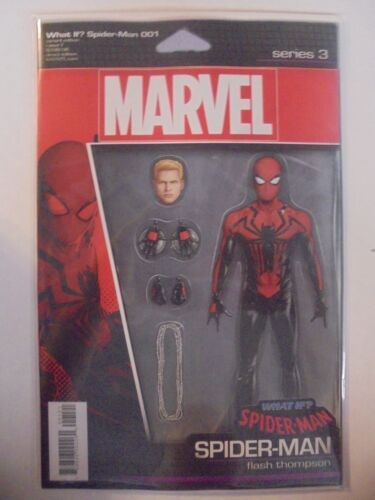 Spider-Man #1 Action Figure Variant Marvel NM Comics Book What If