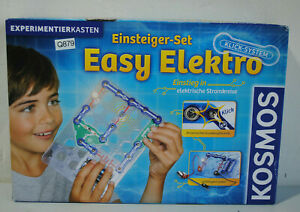 Enfants Clementoni Einsteigerset Easy électrique * Neuf * (q879-r50)-asten Einsteigerset Easy Elektro *neuwertig* (q879-r50) Fr-fr Afficher Le Titre D'origine SuppléMent éNergie Vitale Et Nourrir Yin