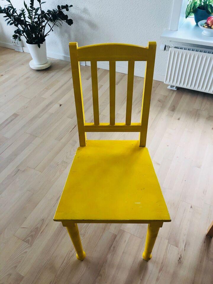 Spisebordsstol, Træ, Ukendt
