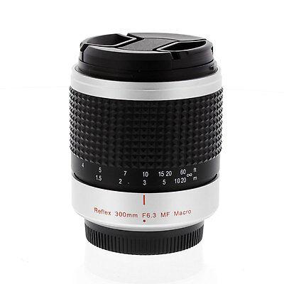300mm F6.3 Super Telephoto Mirror Lens for Panasonic Lumix DMC-GF3 DMC-G3