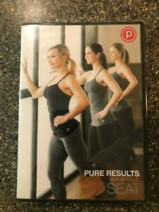 Pure-Barre-Pure-Results-Feature-Focus-Seat-Workout-DVD-2015-MINT-Rare-Oop