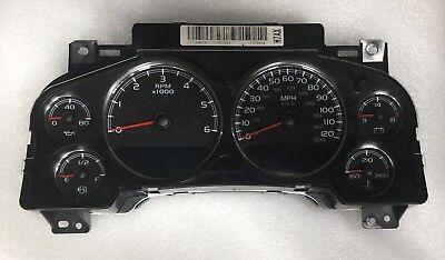 2007 Chevy Silverado DIESEL Speedometer Rebuilt Cluster Gauges 25799996