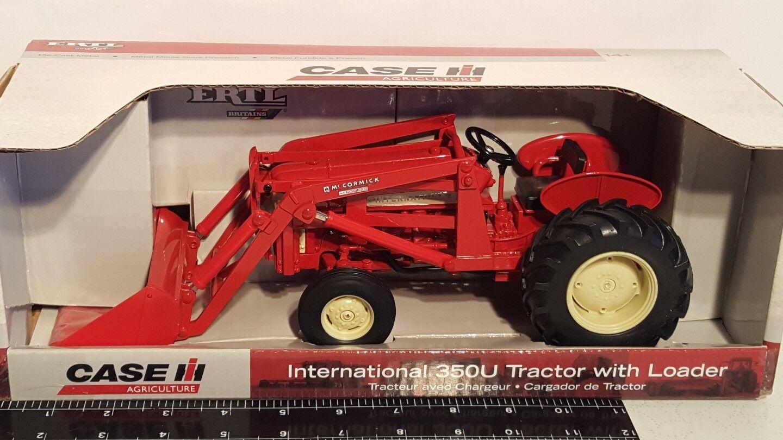 Ertl International 350U w No.50 loader 1 16 die-cast farm tractor replica