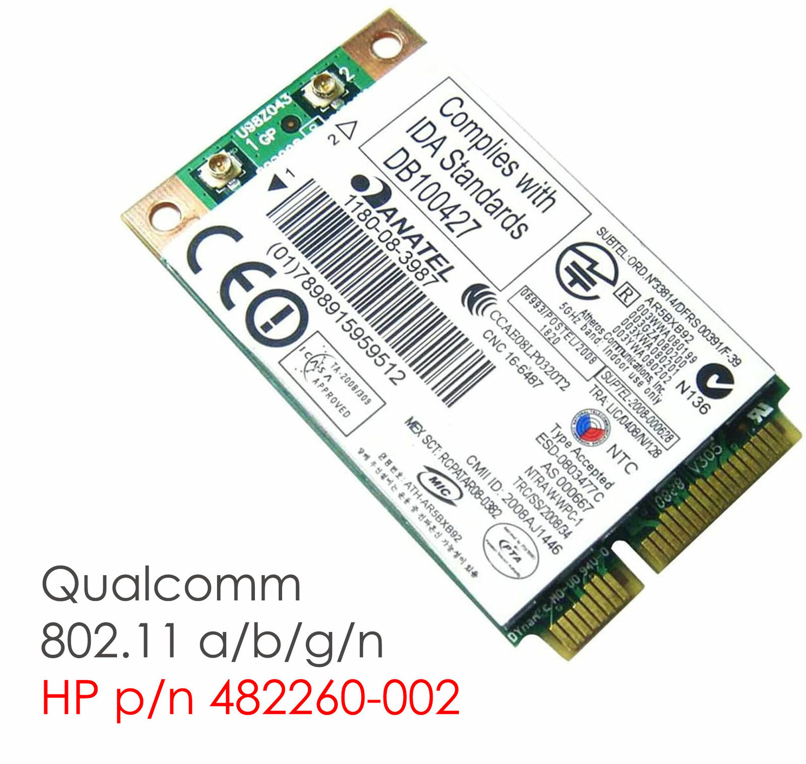 Network Card HP ANATEL Wi