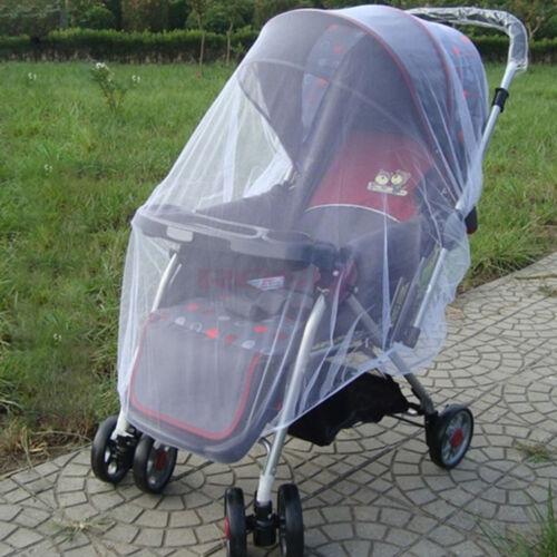 Baby Buggy Landau Moustique Couvrir net poussette poussette fly insectes Protecteur UK