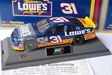 REVELL NASCAR 1998 CHEVROLET MONTE CARLO #31 LOWE'S HOME IMPROVEMENT WAREHOUSE