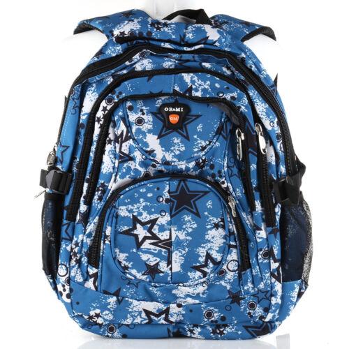 Rucksack OR/&MI Sport Reise City Schul Tasche Backpack Outdoor Freizeit Bunt NEU