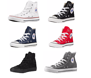 dafd4cea74301d CONVERSE CHUCK TAYLOR ALL STAR HI TOP YOUTHS KIDS CANVAS SHOES ...