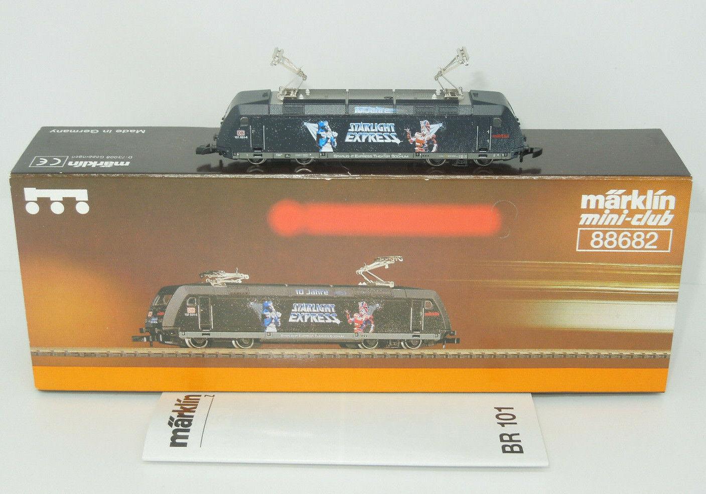 Märklin mini-Verein 88682 E-Lok BR 101 Sternlight Express (2)