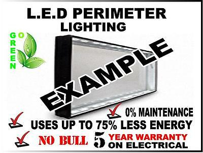 Sign Lighting Kit With Power Supply Its Easy! Well-Educated 3x8 Outdoor L.e.d Retro Fit Kit