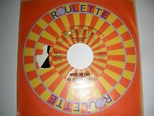 Sparkletones - Boys Do Cry  Tempos - See You In September  Roulette NM 1959