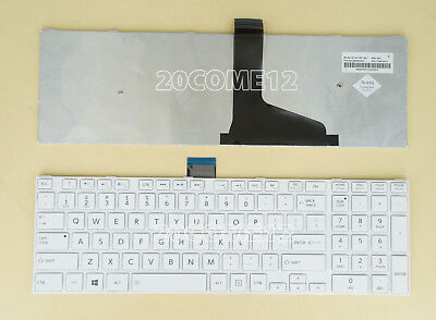 New for Toshiba Satellite C55 C55D C55Dt C55T C55DT-A Series Keyboard white