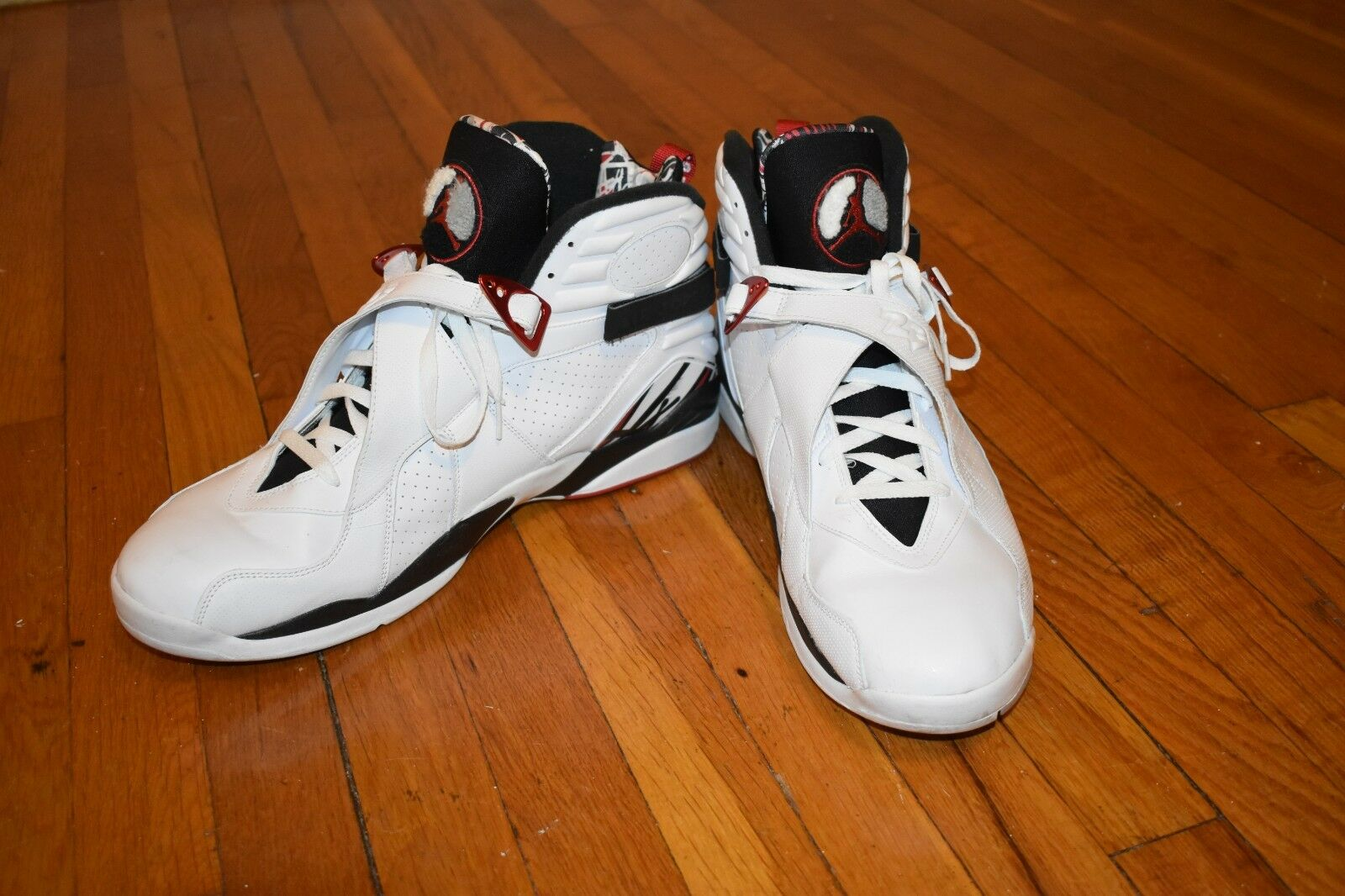 Men's Air Jordan's 8 Bunnies - Authentic Size 17, New Without Box, Worn Once