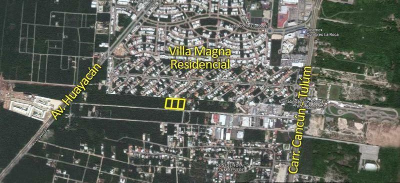 Terreno en venta junto a Villa Magna, Cancún, de 5,000 m2 ¡de oportunidad!