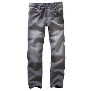ORIGINAL-Carlo-Colucci-Herren-STRETCH-Jeans-Hose-ENRICO-Mid-Grey-Used