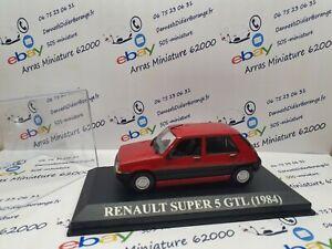 RENAULT-SUPER-5-GTL-1984-1-43-eme-avec-boite-plexi-neuf
