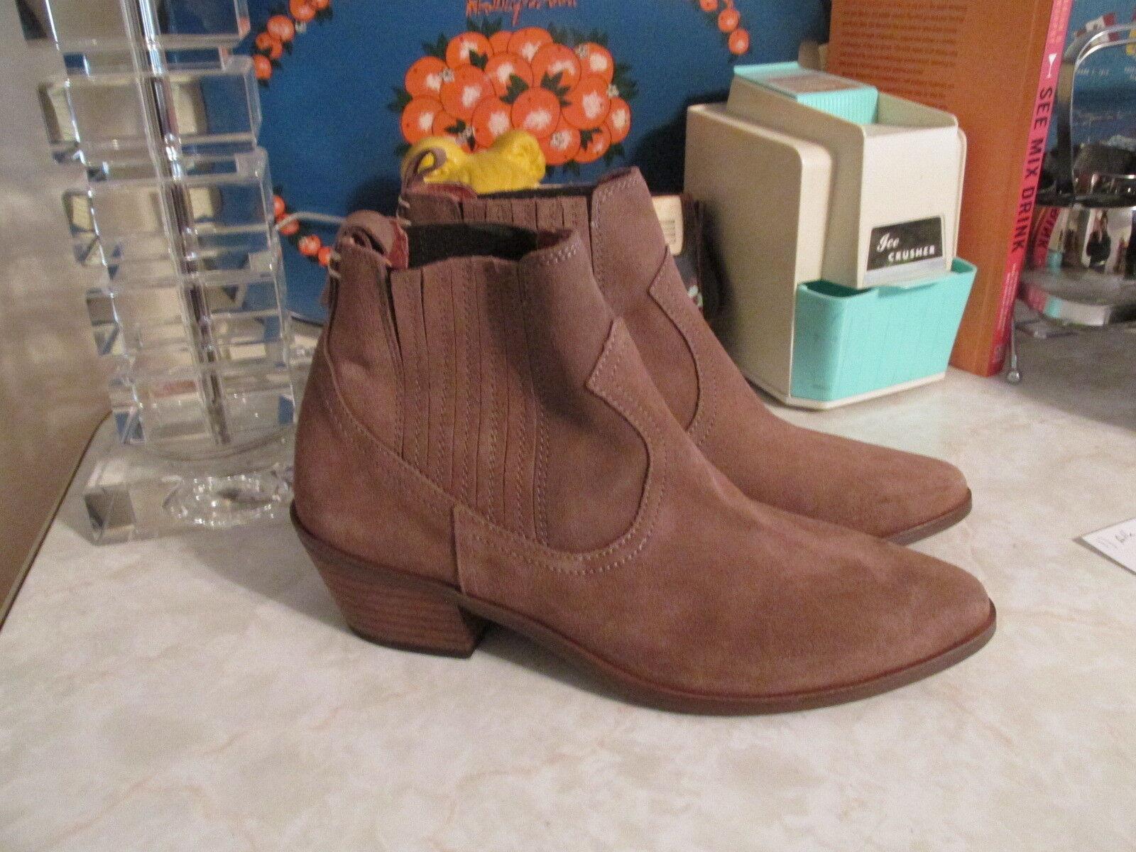 Urban Outfitters Crosswalk gamuza tobillo botas de estilo occidental talla talla talla EU 40 nos 10 Nuevo Sin Caja  muchas concesiones