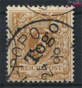 Togo-Allemand-colonie-1b-oblitere-1898-emision-de-surcharge-9030033